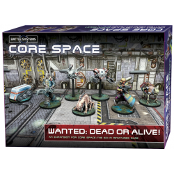 Core Space - Wanted : Dead or Alive