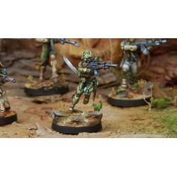 Figurine Infinity (Corvus Belli) - Asawira (Fusil AP)