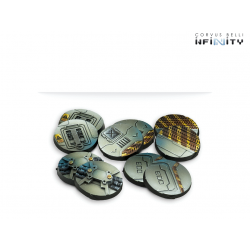 Infinity - 25mm Scenery Bases, Alpha Series (10)