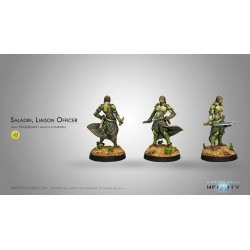 Infinity - Saladin, Liaison Officer (Fusil Combi)