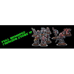 Infinity - Full Nomades Army Pack Crimson Stone