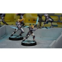Figurine Infinity (Corvus Belli) - Patrocles (EXP CW, Grenades Fumigènes)
