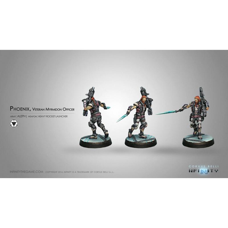 lourd lance-roquettes vétéran myrmidon officer Phoenix infinity corvus belli