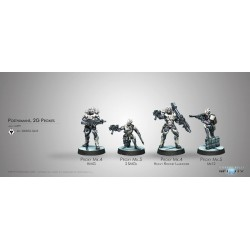 Figurine Infinity (Corvus Belli) - Posthumains (Mk4 ,5) 2G Proxies