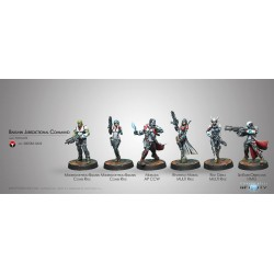 Infinity - Starter Pack Nomades - Bakunin Jurisdictional Command -...