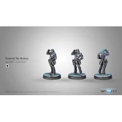 Figurine Infinity (Corvus Belli) - Thamiris l'Aoidos