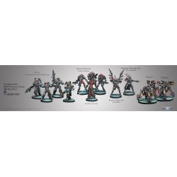 Figurine Infinity (Corvus Belli) - Army Pack Onyx Contact Force