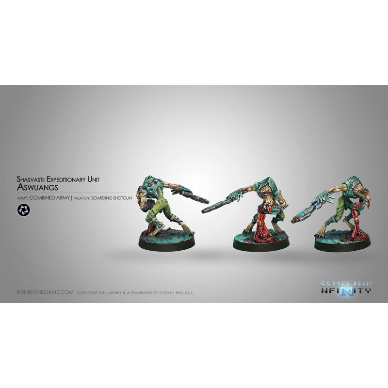 Figurine Infinity (Corvus Belli) - Aswuang (Fusil d'abordage)