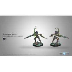 Figurine Infinity (Corvus Belli) - Cadmus (Fusil Combi)