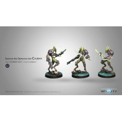 Figurine Infinity (Corvus Belli) - Caliban (Feuerbach), Sabotage and Destruction Unit