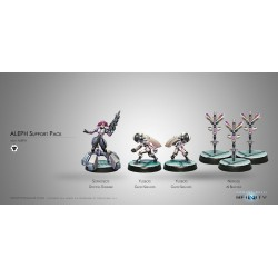 Figurine Infinity (Corvus belli) - Aleph Support Pack