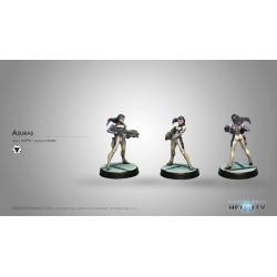 Figurine Infinity (Corvus belli) - Asura (Spitfire)