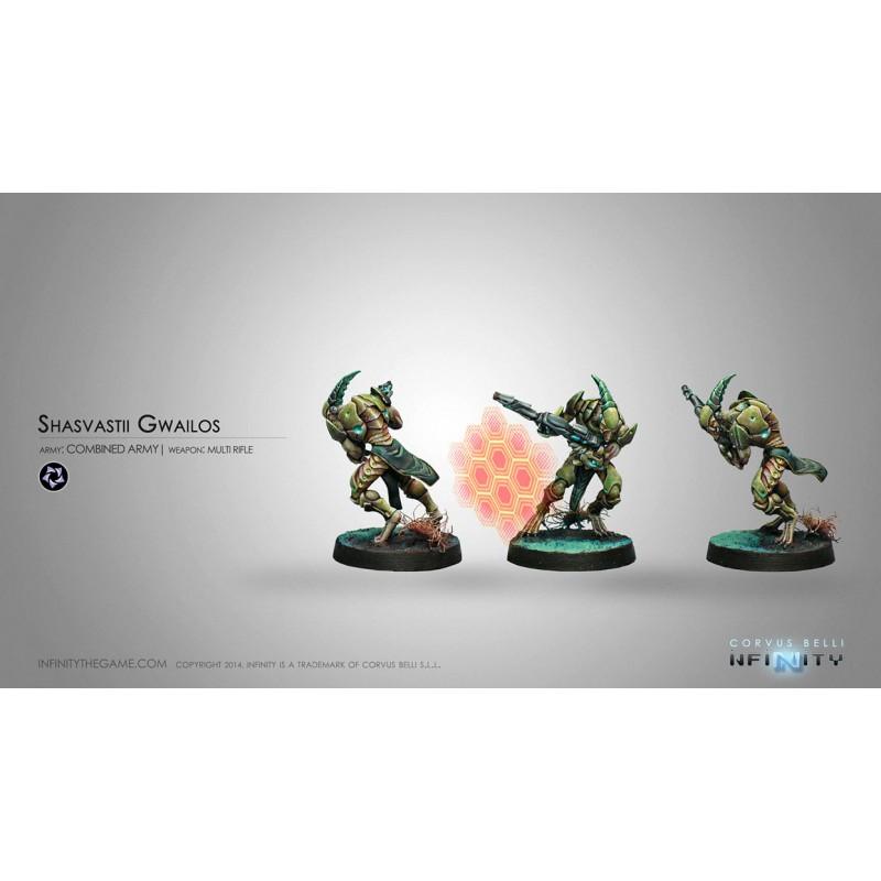 Figurine Infinity (Corvus Belli) - Gwailos Gwailos (Fusil MULTI)