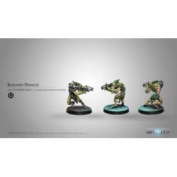 Figurine Infinity (Corvus Belli) - Gwailos (Lance-Roquettes Lourd)
