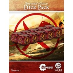 Guild Ball - Butcher's Dice...