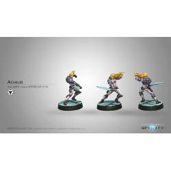 Figurine Infinity (Corvus Belli)- Achilles (Spitfire, Arme CC EXP)