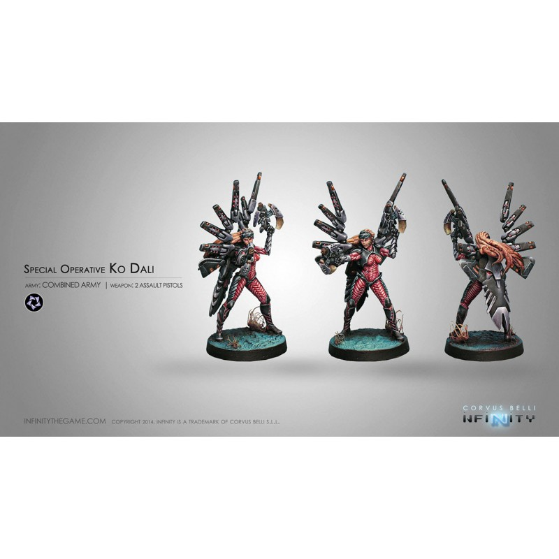 Figurine Infinity (Corvus Belli) - Ko Dali, Special Operative