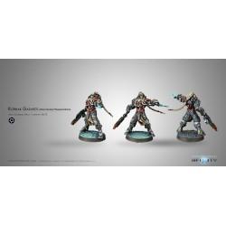 Figurine Infinity (Corvus Belli) - Kornak Gazarot, Morat Superior Warrior-Officer (MK12)