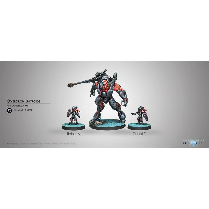 Figurine Infinity (Corvus Belli) - Overdron Batroids