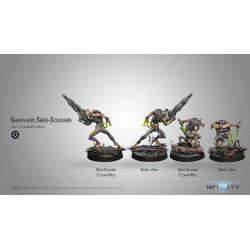 Figurine Infinity (Corvus Belli) - Seed Soldiers x2 (Fusil Combi)