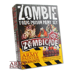 AP - Zombicide: Toxic/Prison Expansion Paint Set