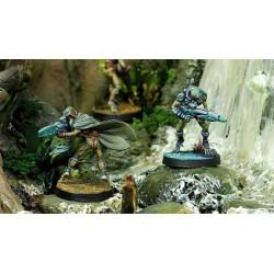 Figurine Infinity (Corvus Belli) - Shrouded (Sniper)