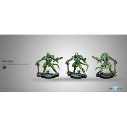 Figurine Infinity (Corvus Belli) - Skiavoros (Fusil Plasma)