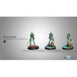 Figurine Infinity (Corvus Belli) - Speculo Killer (Monofilament CCW, Fusil Combi)