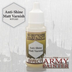 AP - Warpaint : Anti Shine Matt Varnish
