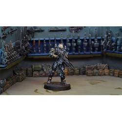Figurine Infinity (Corvus Belli) - Hac Tao (Hacker + HMG)