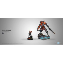 Figurine Infinity  (Corvus Belli)- Avatar & Staldron Unit