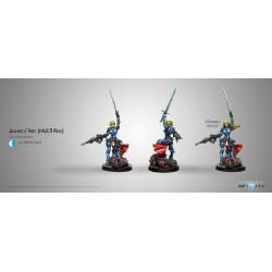 Figurine Infinity (Corvus Belli) - Jeanne d'Arc (Fusil Multi)