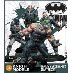 Batman - Starter Bane and Mercenaries