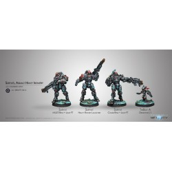 Infinity - Suryats, Assault Heavy Infantry