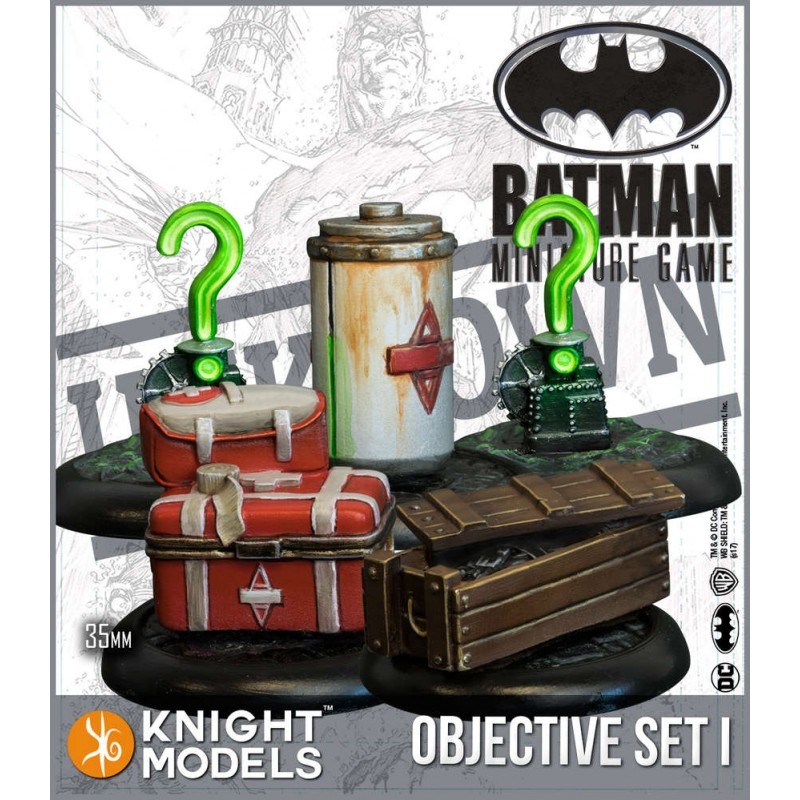 Batman - Objective Game Marker Set 1