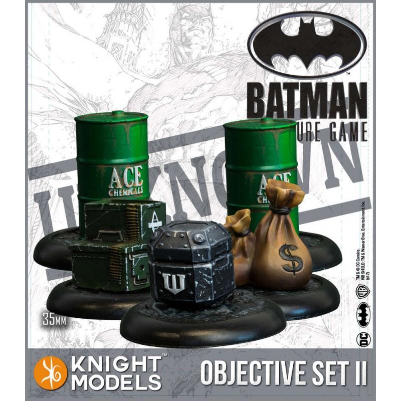 Batman - Objective Game Marker Set 2