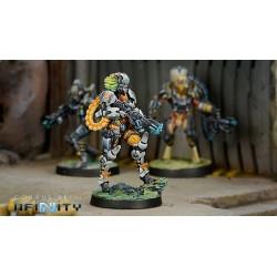Figurine Infinity (Corvus Belli) - Neema Saatar, Ectros Regiment Officer (Spitfire)