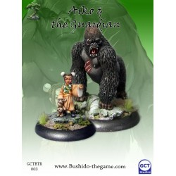 Figurine Bushido - Aiko and Gorilla