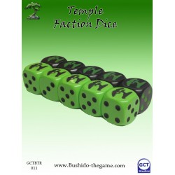 Bushido - Faction Dice (10) - Temple of Ro-Kan