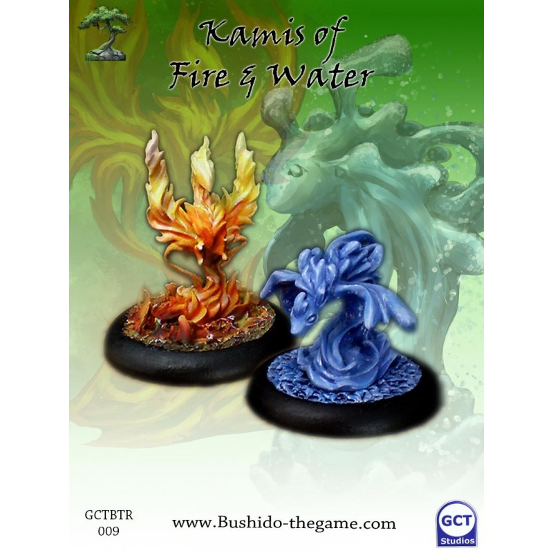 Bushido The Game - Minor Kami of Fire and Water