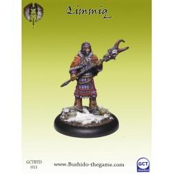 Figurine Bushido - Qimmiq (hill tribe shaman)