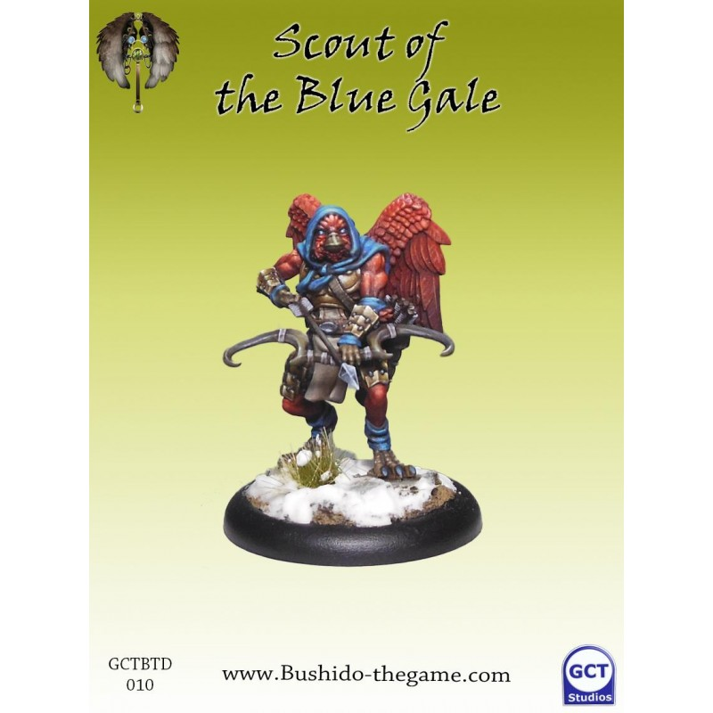 Bushido The Game - Scout of the blue Gale