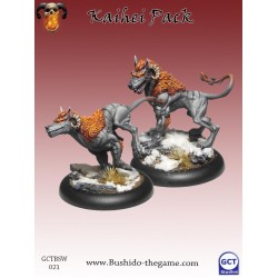 Figurines Bushido - Kaihei pack