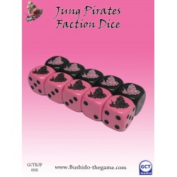 Bushido - Faction Dice (10) - Jung Pirates