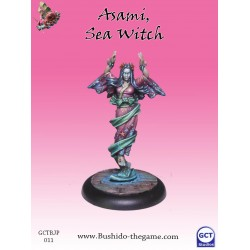 Figurine Bushido - Asami, Sea Witch