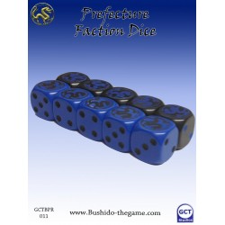 Bushido - Faction Dice (10) - Prefecture of Ryu