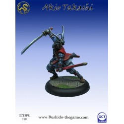 Bushido the Game - Akio Takashi, Ecentric Samurai