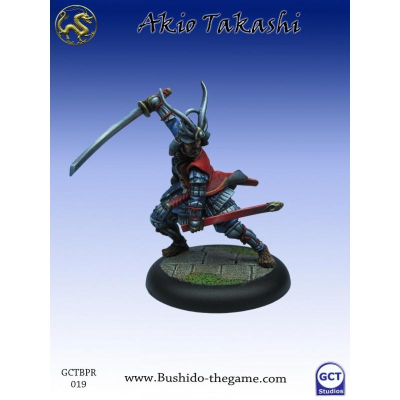 Bushido the Game - Akio Takashi, Ecentric Samurai