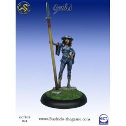 Bushido the Game - Female Goshi