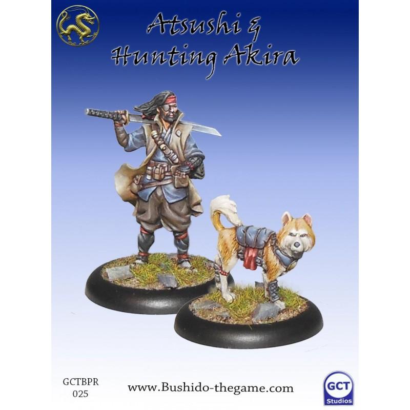 Figurines Bushido - Atsushi & hunting Akira